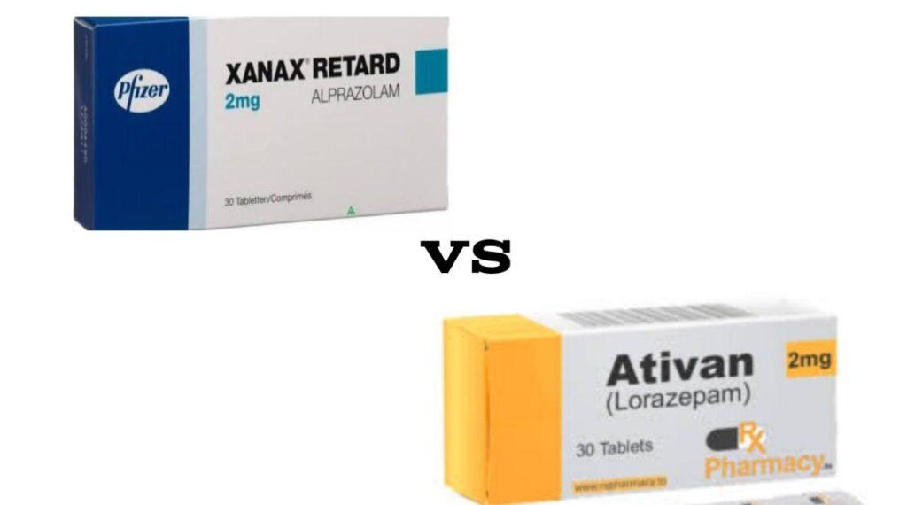 Ativan vs Xanax