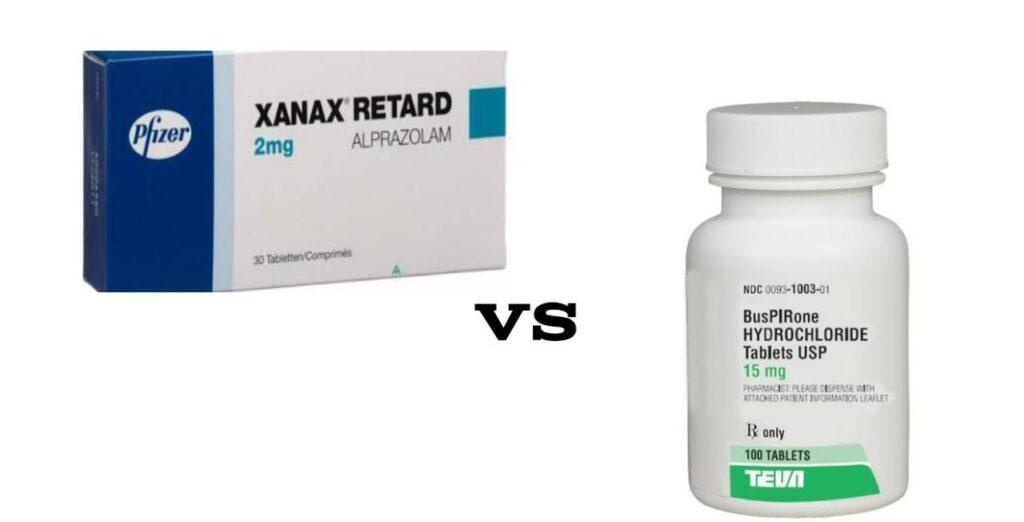 Buspirone vs Xanax