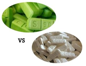 Difference Between White and Green Xanax