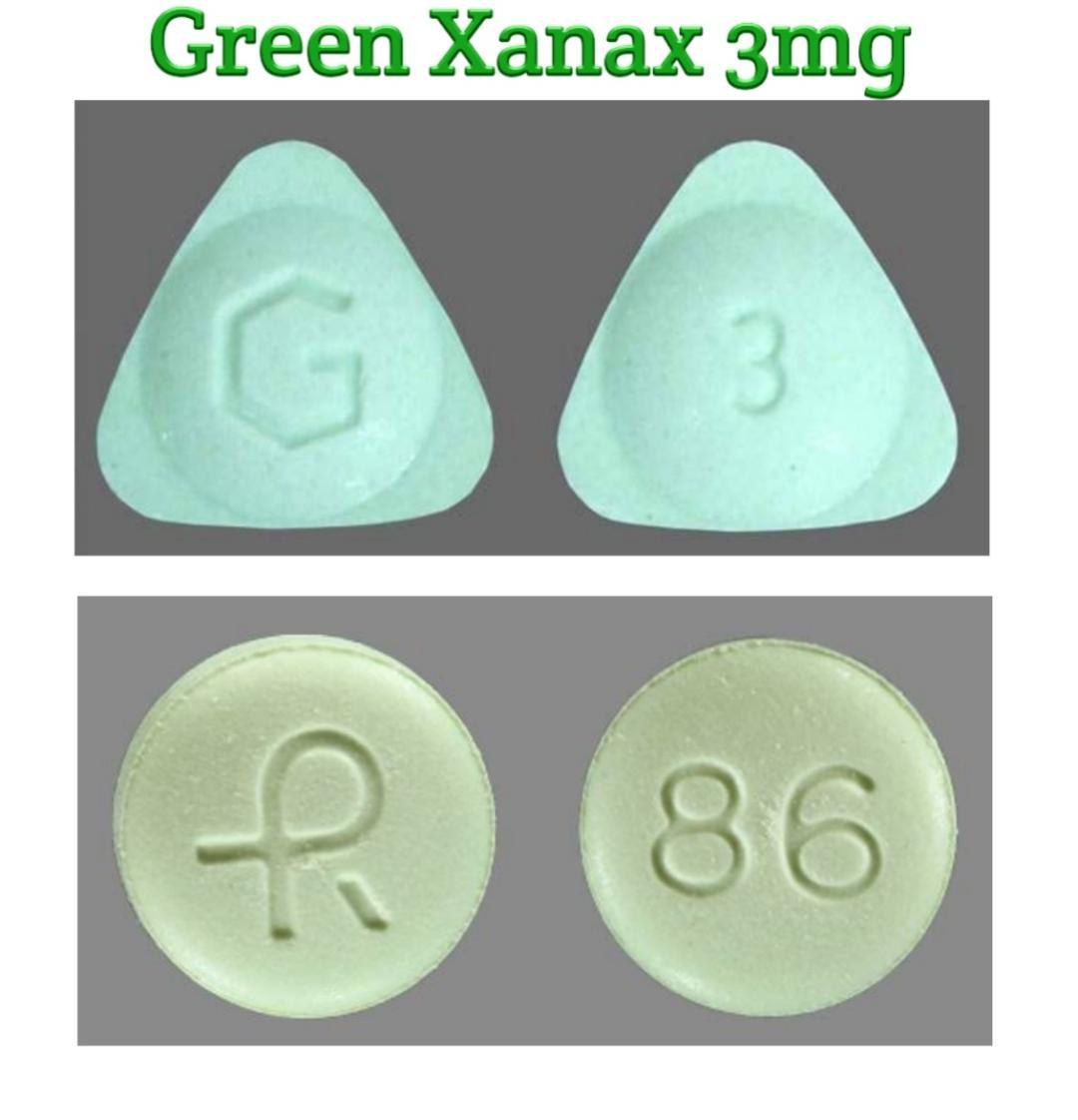 Green Xanax 3mg