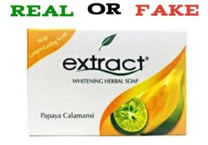 How To Identify Original Extract Soap vs Fake