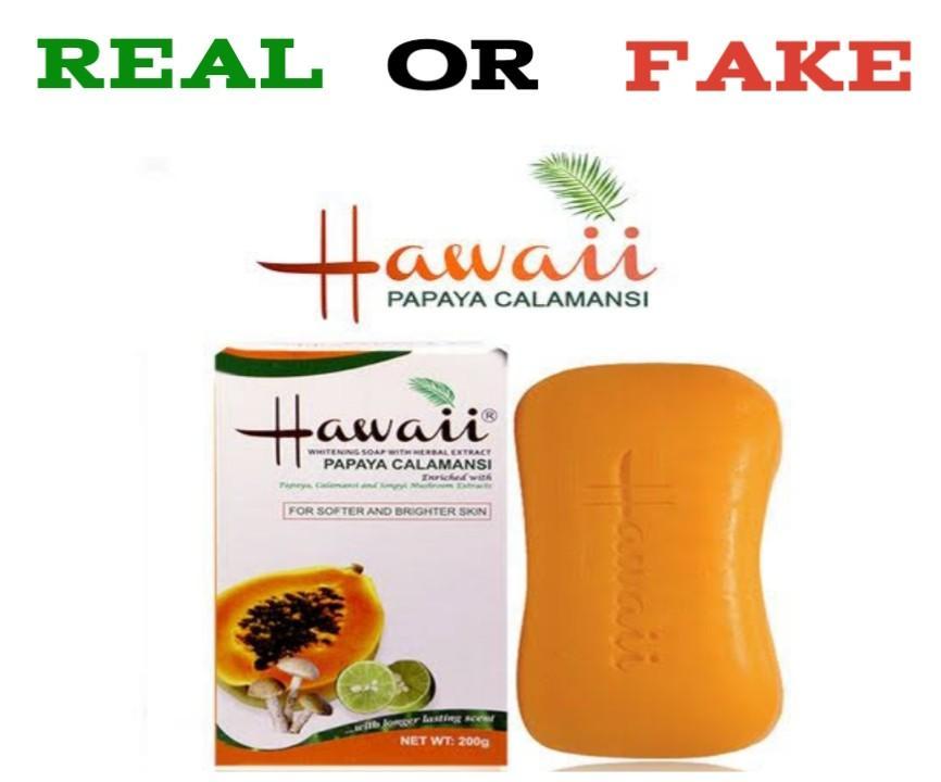 How To Identify Original Hawaii Papaya Soap vs Fake