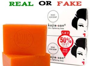 How to Identify Original Kojie San Soap