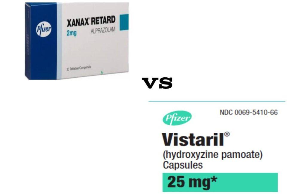 Hydroxyzine pamoate vs Xanax