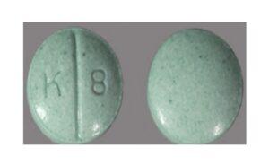 K8 Green Pill