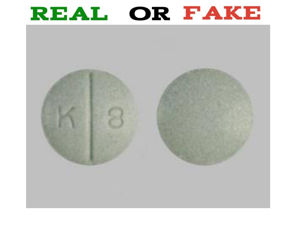 K8 Green Pill Fake