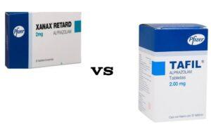 Tafil 2mg vs Xanax 2mg