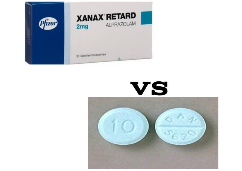 DAN 5620 VS Xanax
