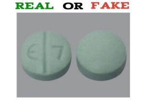 Fake E7 Pill