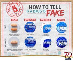 Fake Biogesic Paracetamol