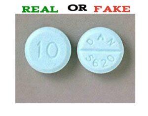 Fake DAN 5620 Diazepam