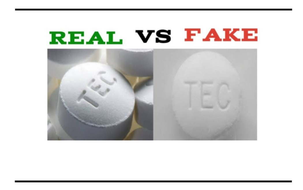 Fake Ratio-Oxycocet TEC Pills