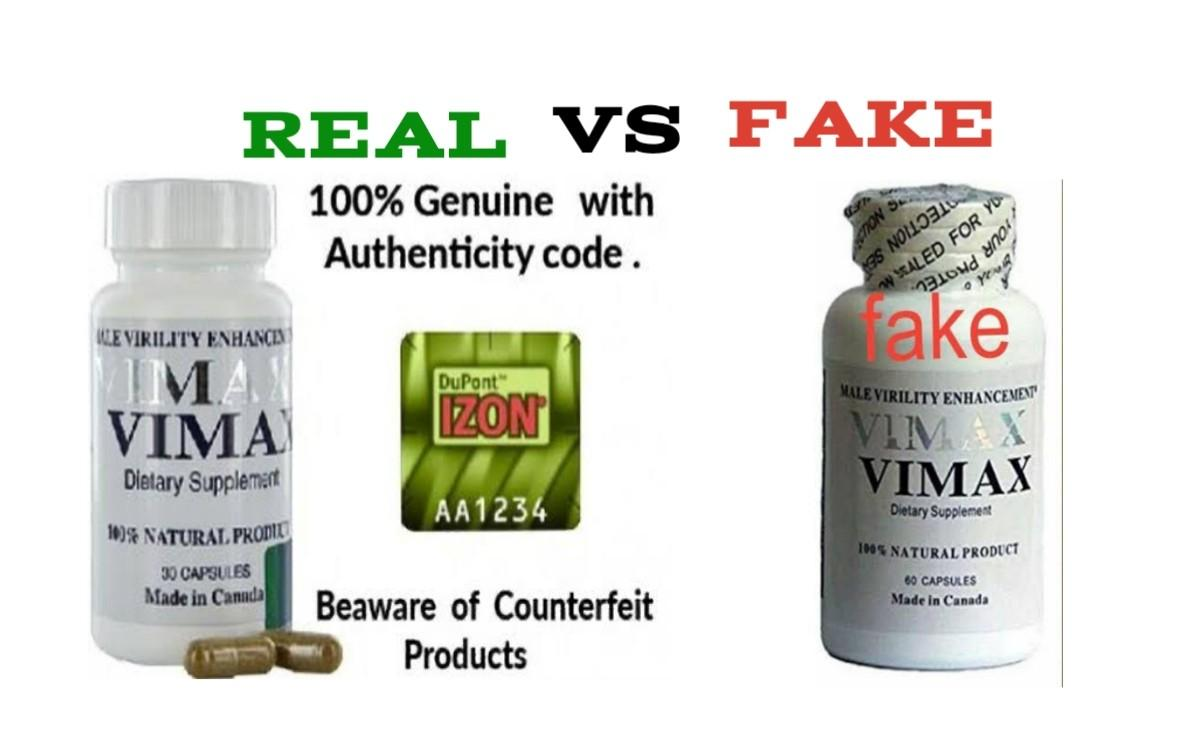 Fake Vimax Pills