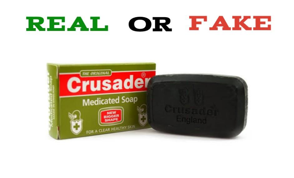 How to Spot Fake Crusader Soap