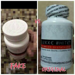 Luxxe White Capsule Fake Vs Original