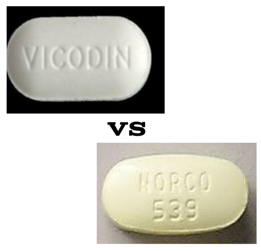 Vicodin vsNorco