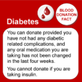 Can Diabetics Donate Blood In The United Kingdom