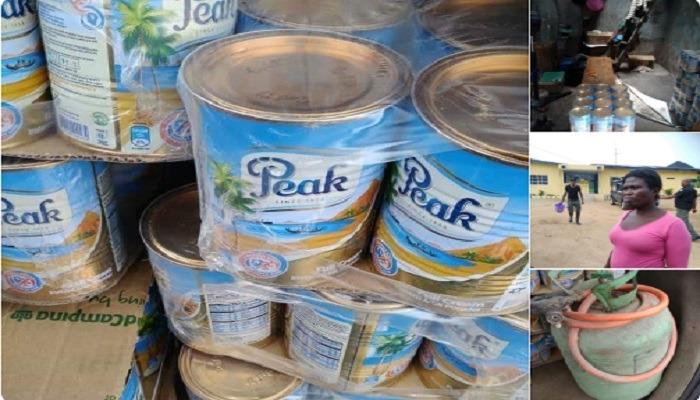 Fake Peak Milk producer arrested