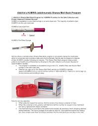 How To Dispose Of Humira Pens