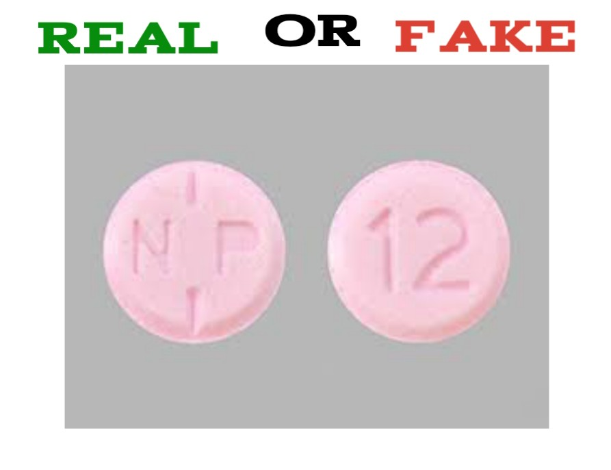 How to Spot Fake NP 12 Pill