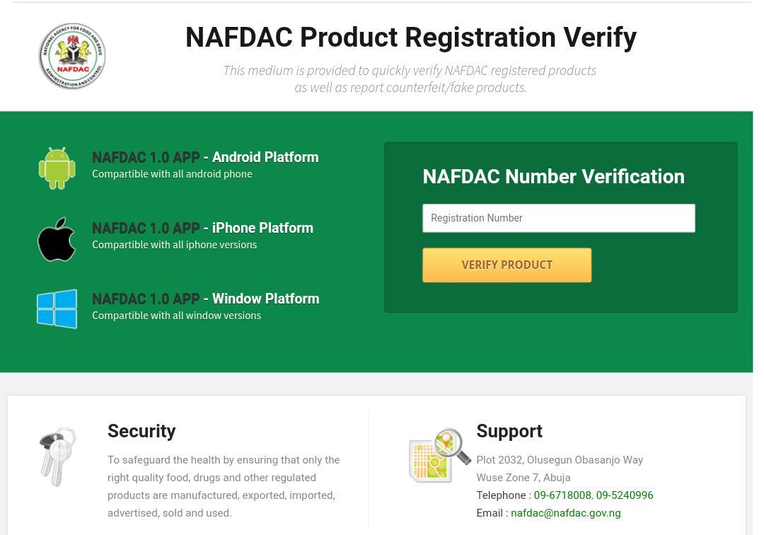 How to Verify a NAFDAC Number
