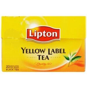 Lipton Yellow Label Tea Side Effects
