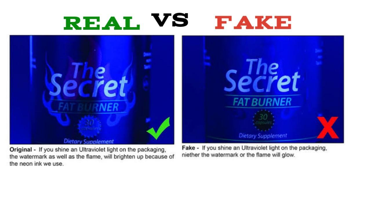The Secret Fat Burner fake