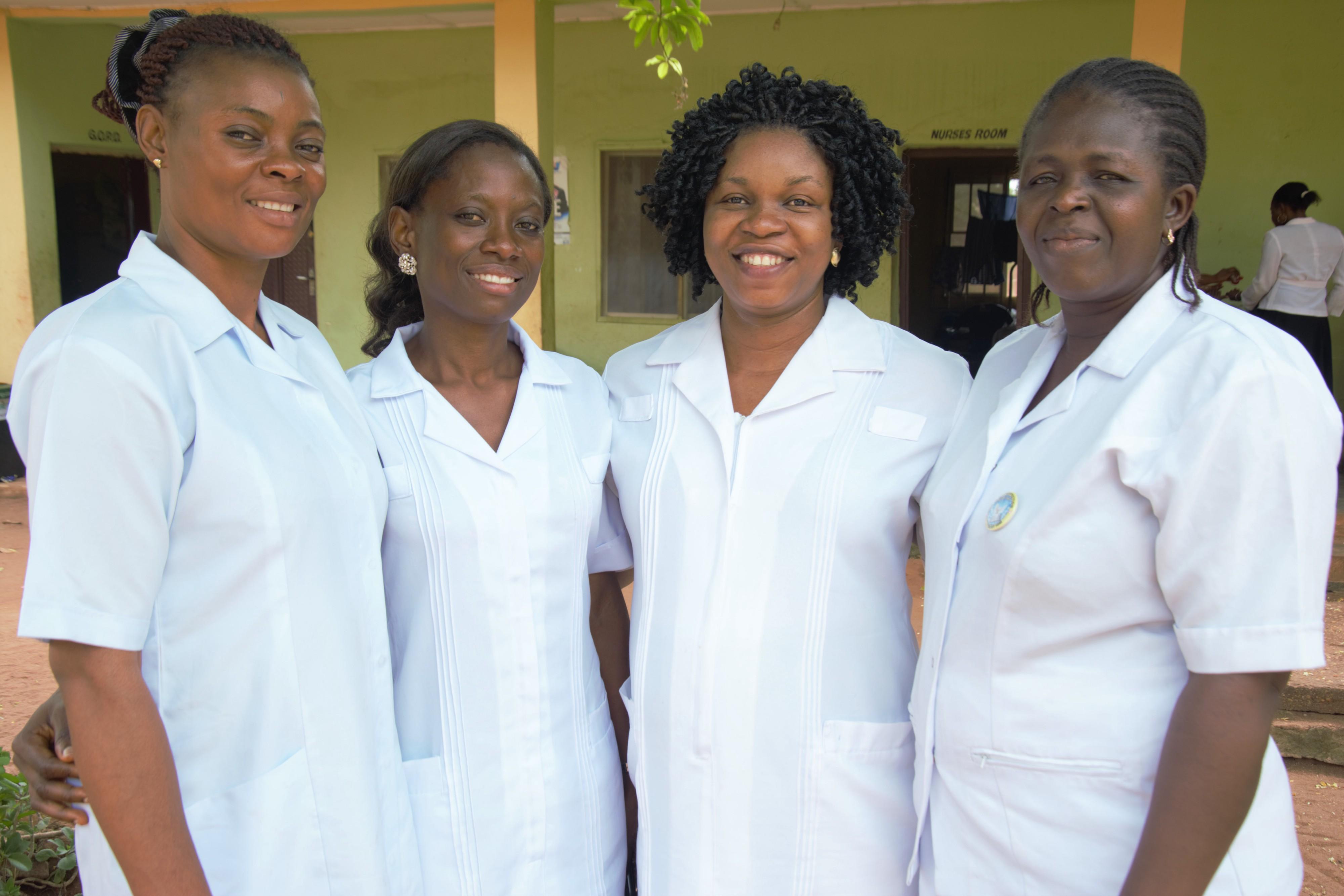 Types of Nurses in nigeria
