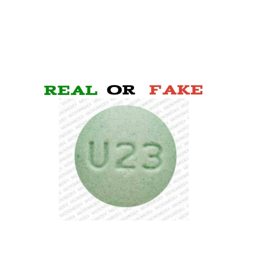 U23 pill fake