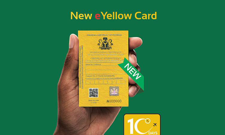 Yellow Card For Travelling In Nigeria