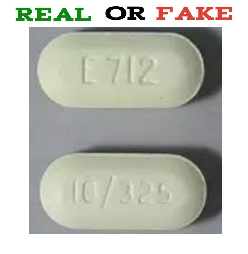 E712 Pill Fake