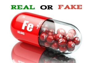 Fake Iron Supplements