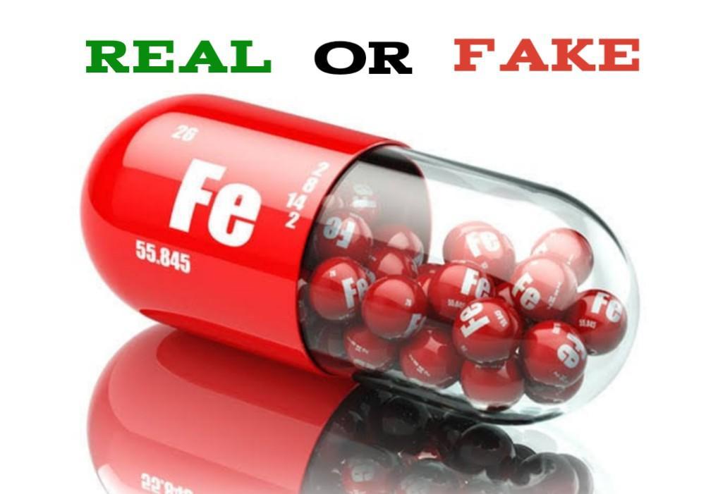 Fake Iron Supplements