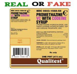 Fake Qualitest Codeine