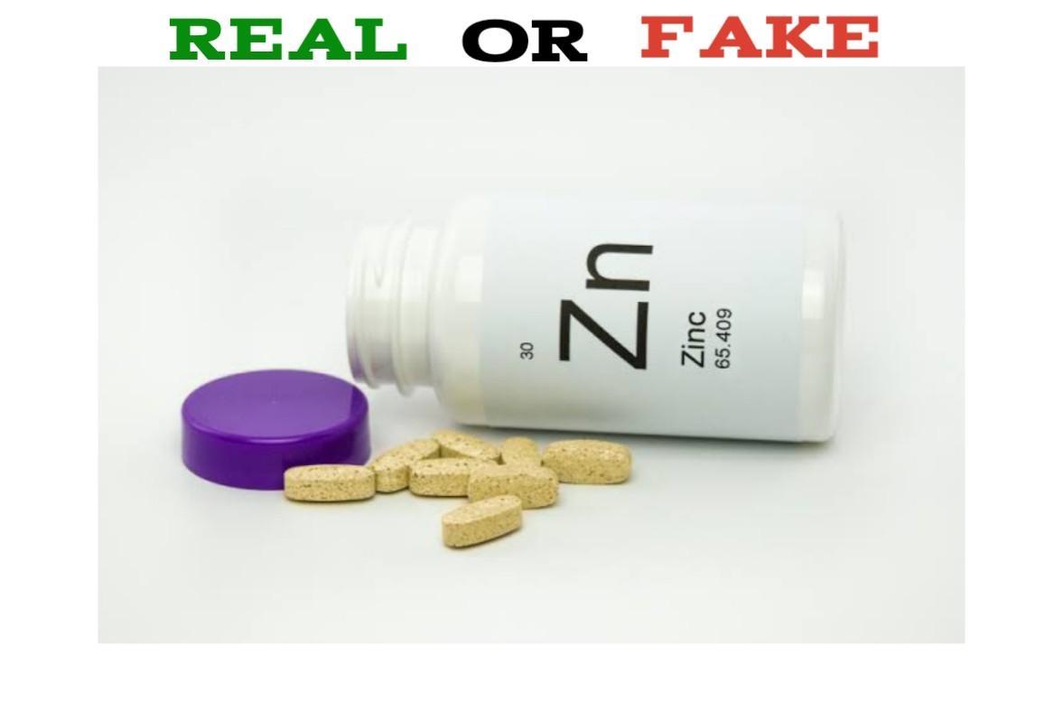 Fake Zinc Supplements