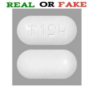 T 194 Pill Fake