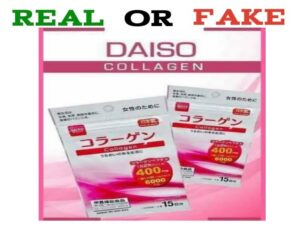 Fake Daiso Collagen