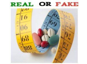 Fake Weight loss Pills