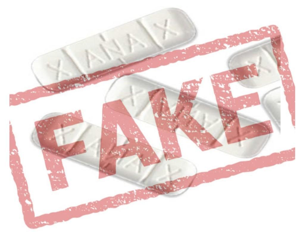 Fake Xanax