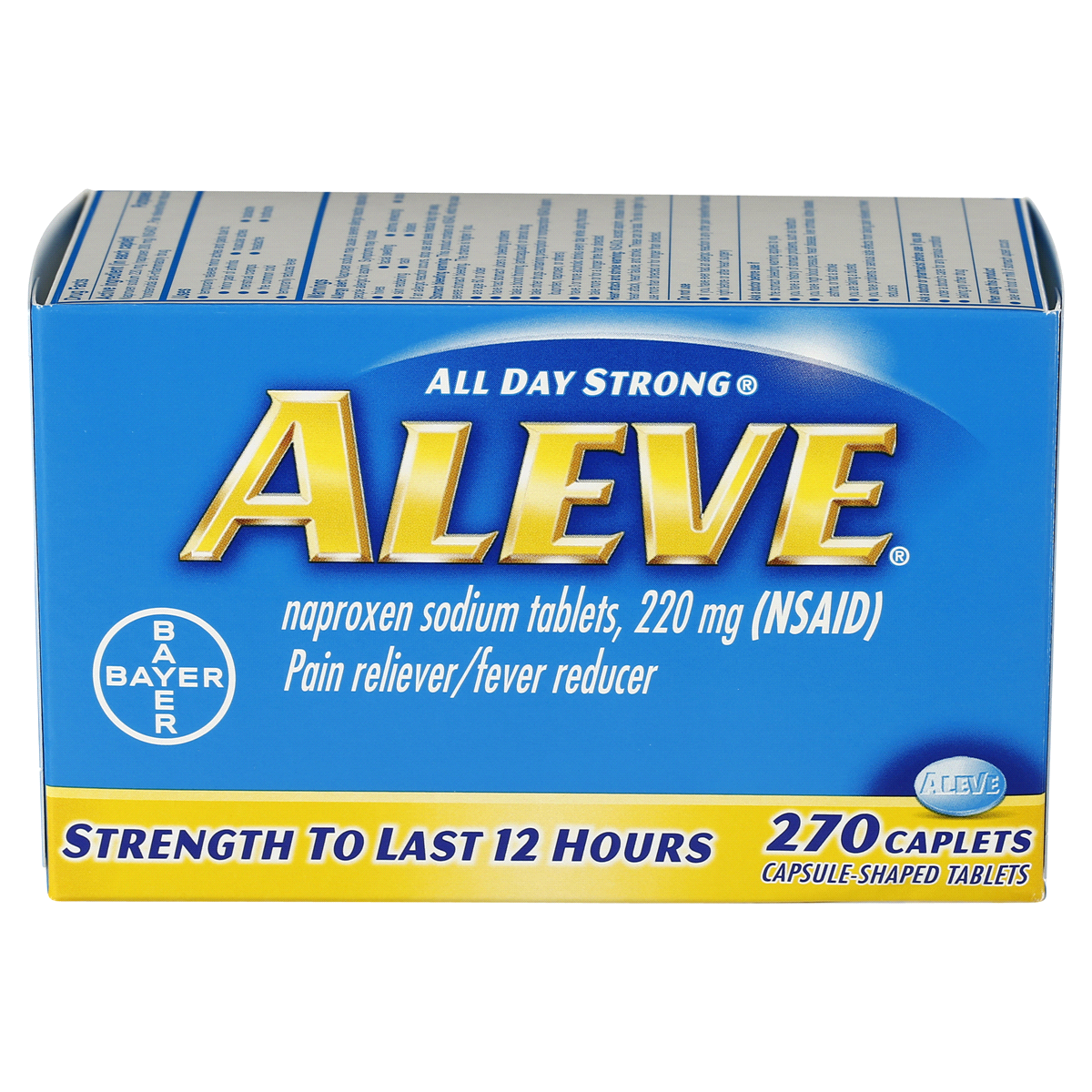 How Long Does It Take For Aleve (Naproxen) to Work