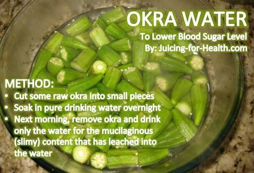How to Use Okra Water For Diabetes