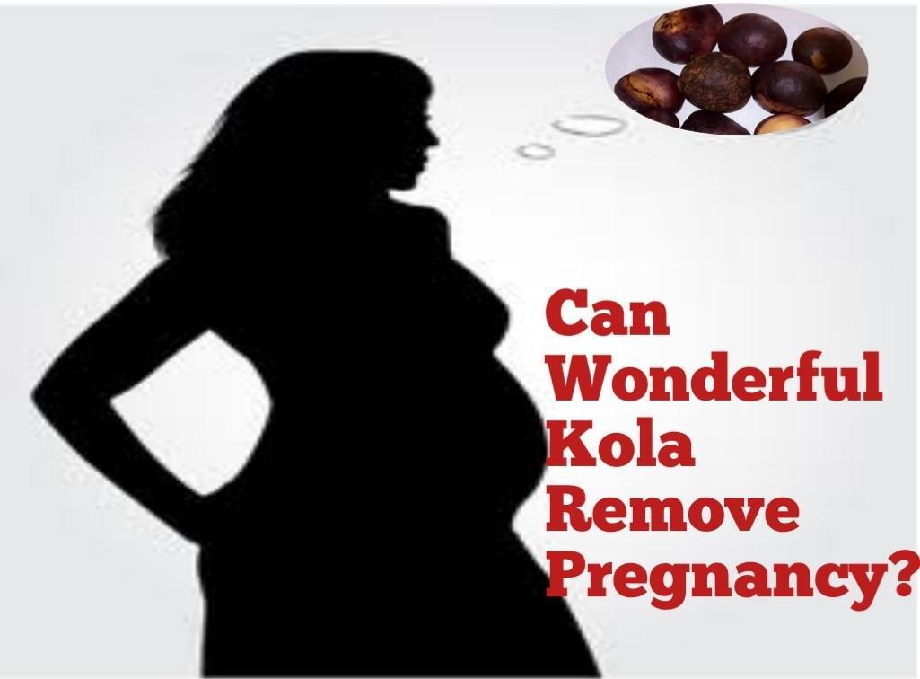 can wonderful kola abort pregnancy