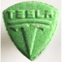 Green Tesla pill