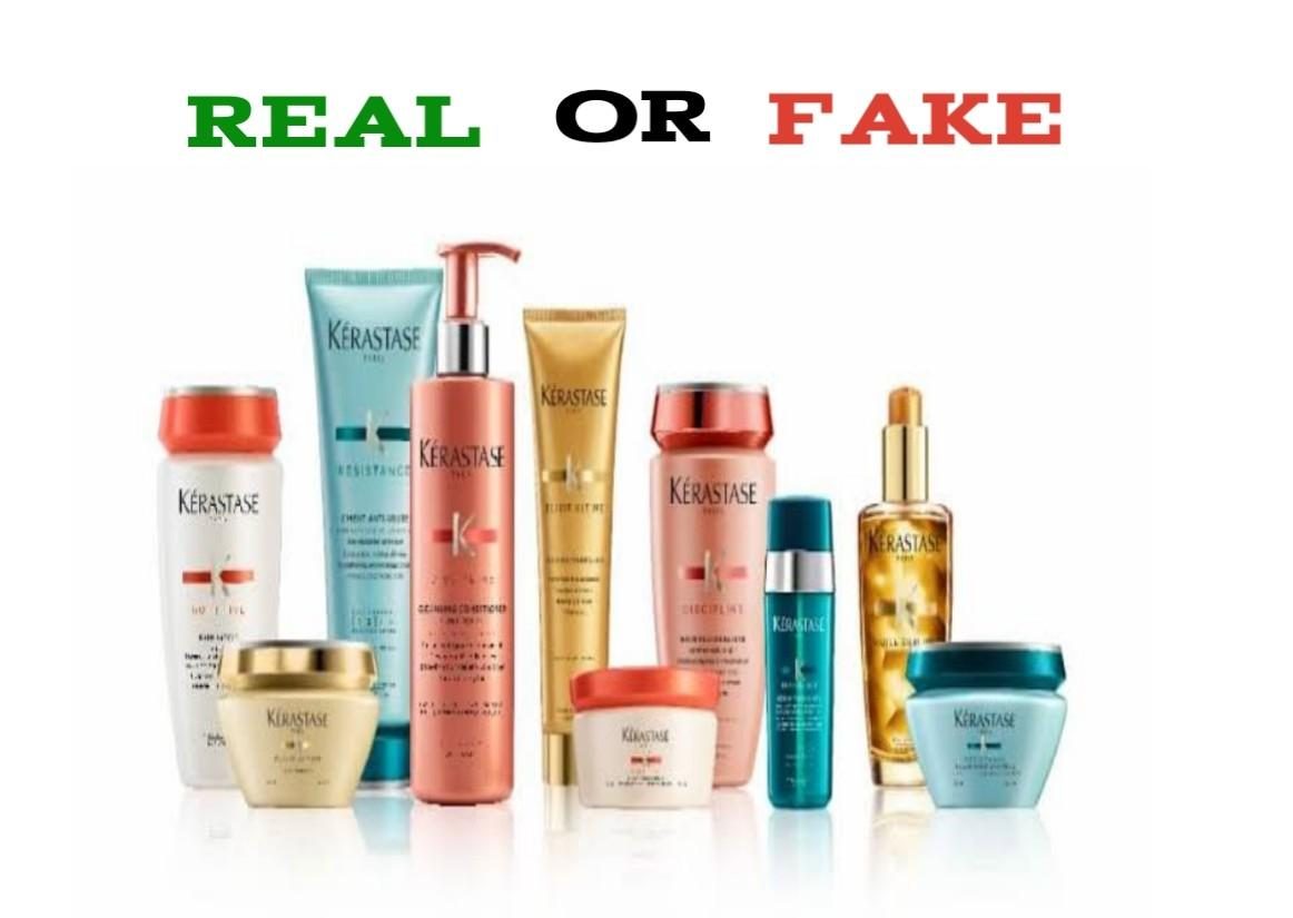 how to spot fake kerastase products