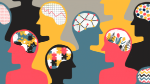 What are the 7 components of mental health?