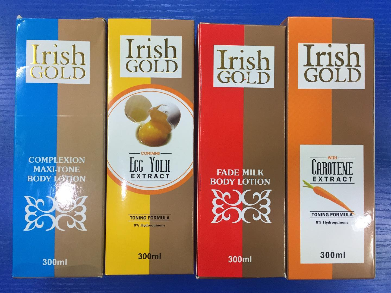 Does Irish Gold Cream Bleach