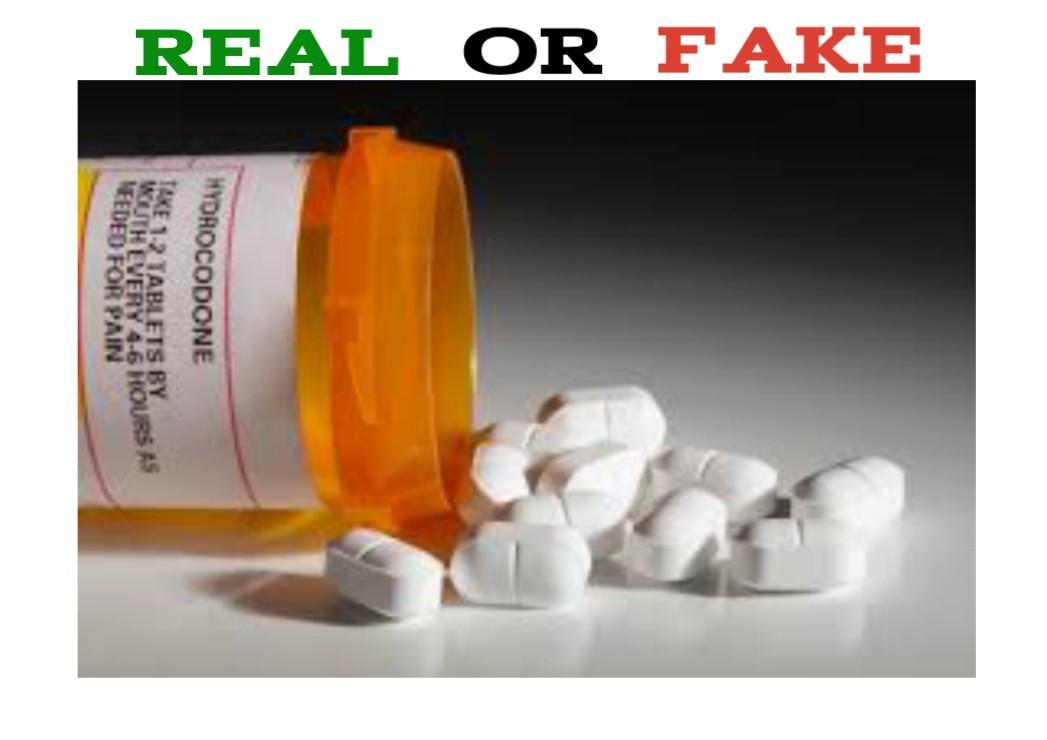 Fake Hydrocodone
