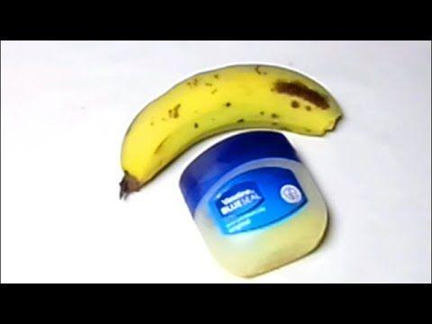 vaseline and banana for bigger buttocks