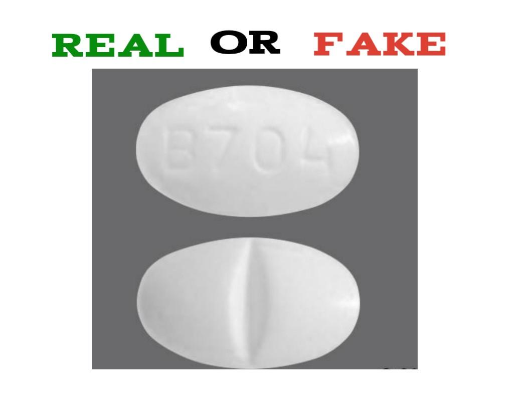 Fake B704 Pill
