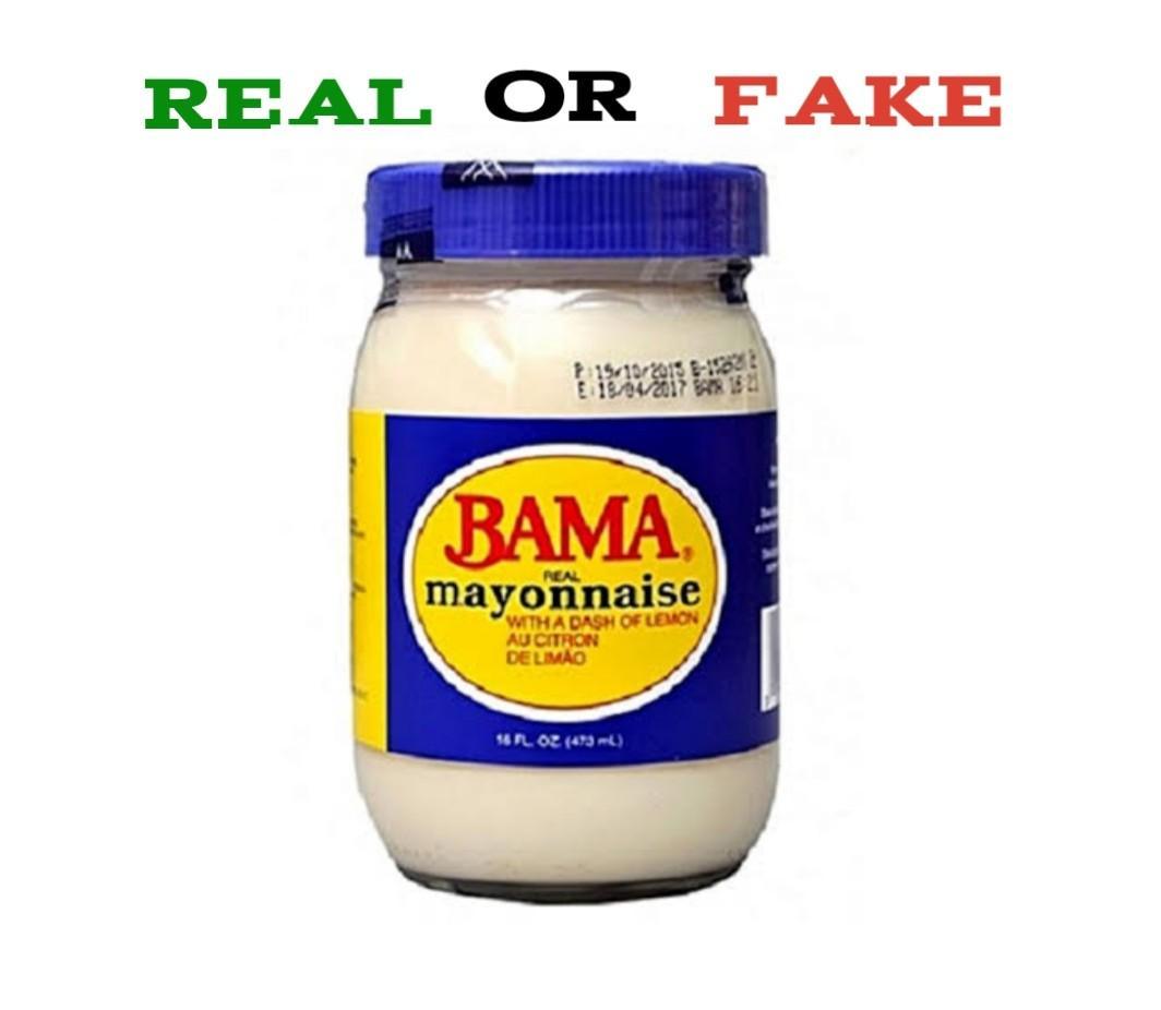 How To Identify Fake Bama Mayonnaise